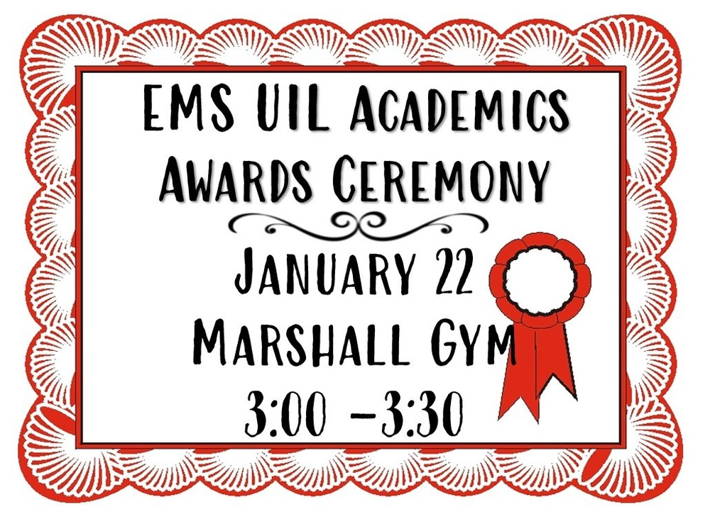 UIL Academics Awards Ceremony