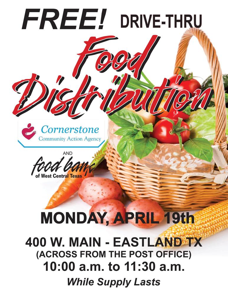 Food Distribution in Eastland