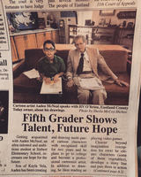Fifth Grader Shows Talent