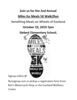 Miles for Meals 5K Fundraiser