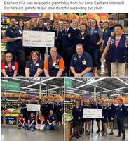 Eastland FFA Awarded Grant