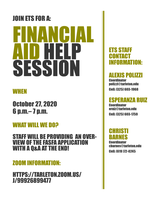 Financial Aid Help Session